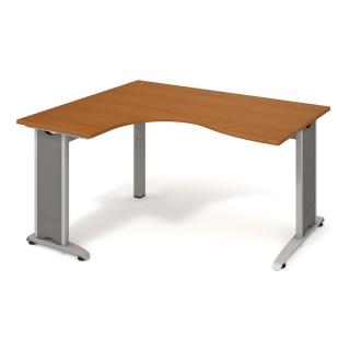 Kancelářský stůl FLEX, FE 2005 P, 160x75,5x120(60x80)cm