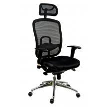 Kancelářská židle (křeslo) s područkami OKLAHOMA PDH, černá