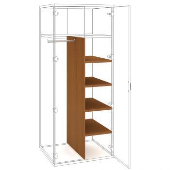 Police do šatní skříně STRONG, SVS 5 60, 39,2x149x56cm HOBIS SVS 5 60