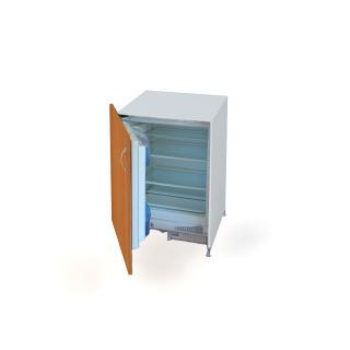 Kuchyňská lednice  do kanceláře Hobis, KUDD 90 CH L, 60x72,4(+10)x56cm
