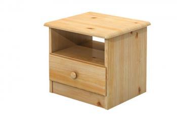 Noční stolek, masiv borovice Bradop B018