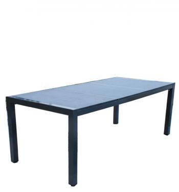 Zahradní stůl, hliník, v. 76, š.144,5 hl. 96cm HD NABYTEK A20290