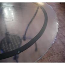 Stolová deska pečené sklo, kruh Ø 130 cm