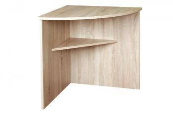 Rohový stůl 70x70 sestavy Office Bradop C543
