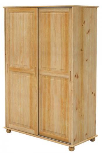 Šatní skříň dvojdveřová, zasouvací dveře Bradop B827