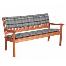 Dvoumístná opěrka na lavici, 110x30x6 cm