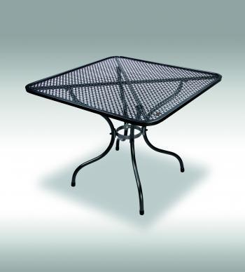 Zahradní stůl ROYAL, kovový, 90x90 cm Zahradní nábytek s.r.o. E503