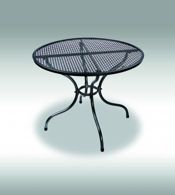 Zahradní stůl ROYAL, kovový, Ø 90 cm Zahradní nábytek s.r.o. E501