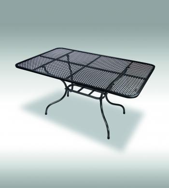Zahradní stůl ROYAL, kovový, 160x95 cm Zahradní nábytek s.r.o. E506