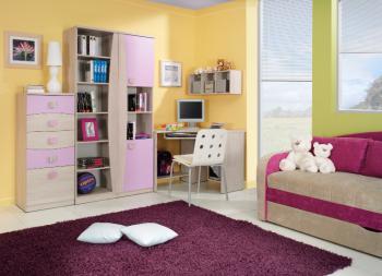 Dětský pokoj SUNET 9, s pohovkou MEBLOHAND