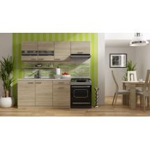 Kuchyň BODE 150, 100+50, šířka 210 cm