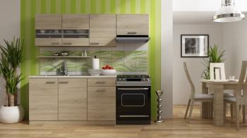 Kuchyň BODE 150, 100+50, šířka 210 cm MEBLOHAND