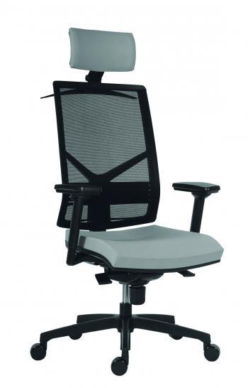 Kancelářské židle bez područek 1850 SYN OMNIA, podhlavník Antares