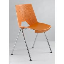 Plastová židle STRIKE 2130 PC, oranžová