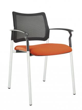 Jednací židle s područkami 2170 ROCKY NET C
