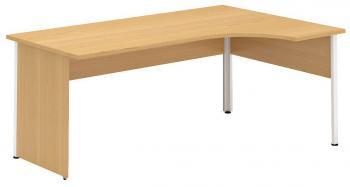 Kancelářský stůl OfficePlus B 1200x1800/800 mm, pravý ALFA ŘÍČANY 7011220