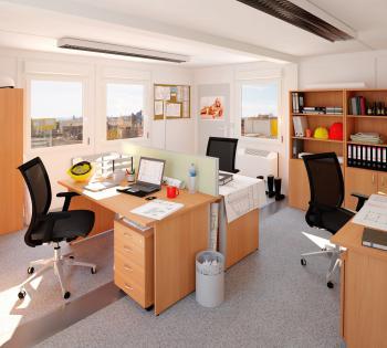 Kancelářský stůl OfficePlus A 1200x1800/800 mm, levý ALFA ŘÍČANY 7010121