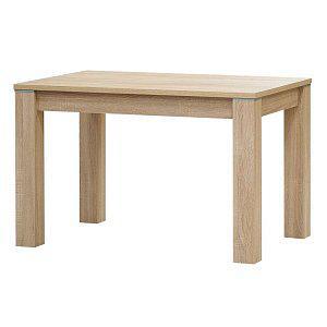 Jídelní stůl PERU rozměr 80x80cm, dub sonoma, javor