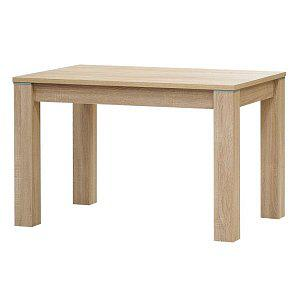 Jídelní stůl PERU rozměr 140x80cm, dub sonoma, javor