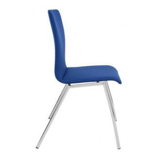 Jednací a konferenční židle IBIS, bez područek, čalouněná