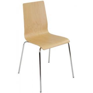 Jednací a konferenční židle LILLY EKO - bez čalounění