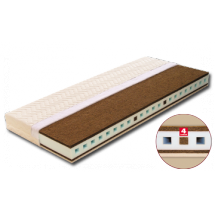 Profilovaná matrace AGÁTA s potahem Sanitized 200 x 80 x 18 cm