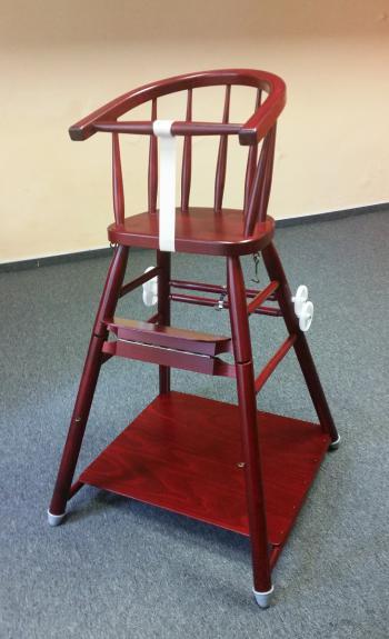 Židle dětská SANDRA 331710, hladká, celodřevěná L.A.Bernkop-KORYNA 331710