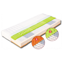 Taštičková matrace EVA s potahem z úpletu 200 x 90 x 22 cm