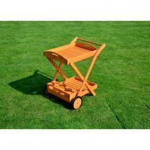 Servírovací stolek, borovice