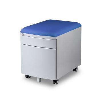 Pojízdný kontejner pro stoly PROFI3 s čalouněnou sedací plochou Mayer 32P8_26