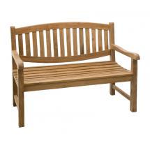 Teaková zahradní lavice ALPEN 120 cm