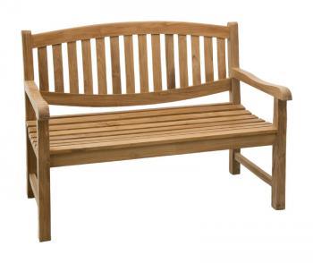 Teaková zahradní lavice ALPEN 120 cm Zahradní nábytek s.r.o. CTM040506-00