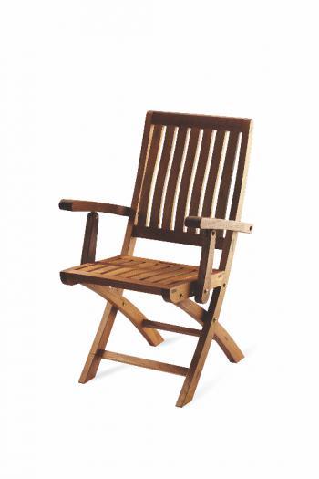 Teaková skádací zahradní židle DORIS FaKOPA 11013