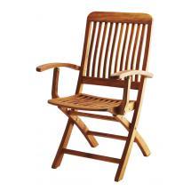 Teaková skládací zahradní židle ANGELO