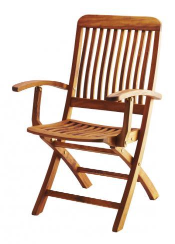 Teaková skládací zahradní židle ANGELO FaKOPA 11007