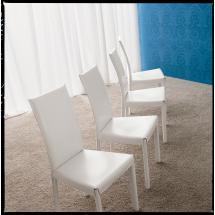 Židle FLINA (regenerovaná kůže)