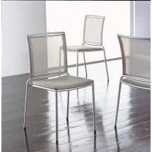 Židle FLY RE (chrom, síťovina)