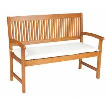 Dvoumístný podsedák na lavici, 120x45x6 cm