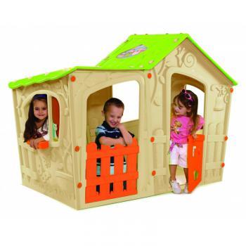Dětský plastový domek, MAGIC VILLA PLAY HOUSE ROJAPLAST 17/437