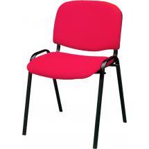 Jednací židle IMPERIA (čalouněná - černá konstrukce)