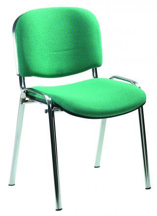 Jednací židle IMPERIA  (čalouněná - chromová konstrukce)