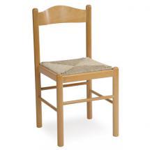 Jídelní a kuchyňská židle PISA (s výpletem)