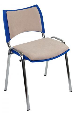 Jednací židle SMART (chromová konstrukce )